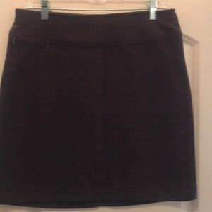 White Sierra Fleece Skirt